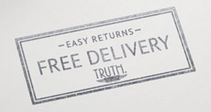 truth free delivery and easy returns